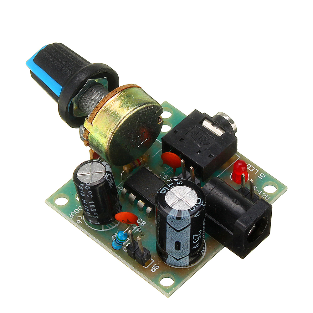 LM386 Mini DC 3V To 12V Amplifier Board Signal Amplifier Module for Arduino