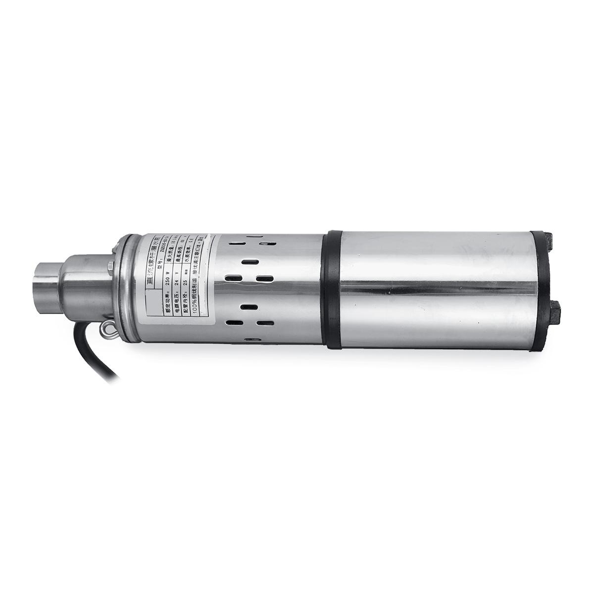 280W 24V Deep Well Pump Water Pump Submersible Pump 40M Lift