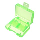 3pcs Green Backpacker GK-1CF4SD Portable Memory Card Receiving Box Mobile TF Card Camera CF/SD Storage Card Box
