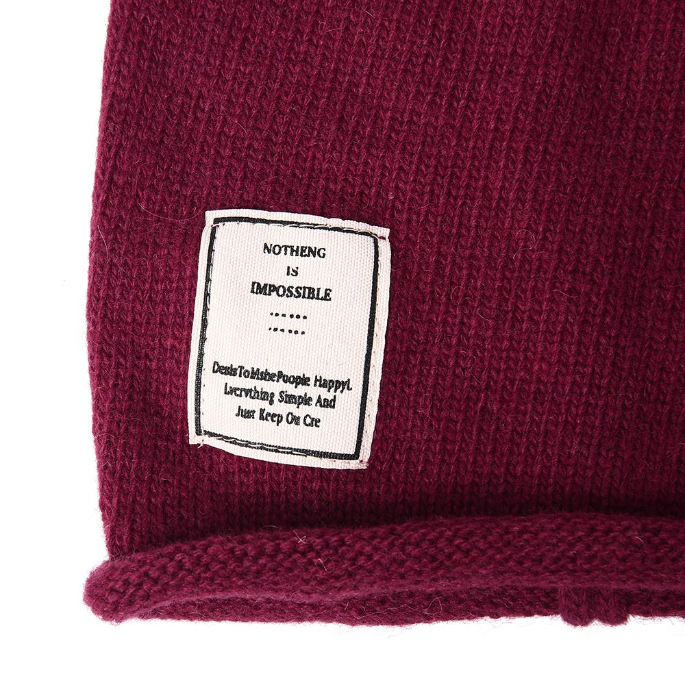 Winter Warm Earmuffs Knit Hat Men Women Outdoor Slouchy Ski Beanie Cap