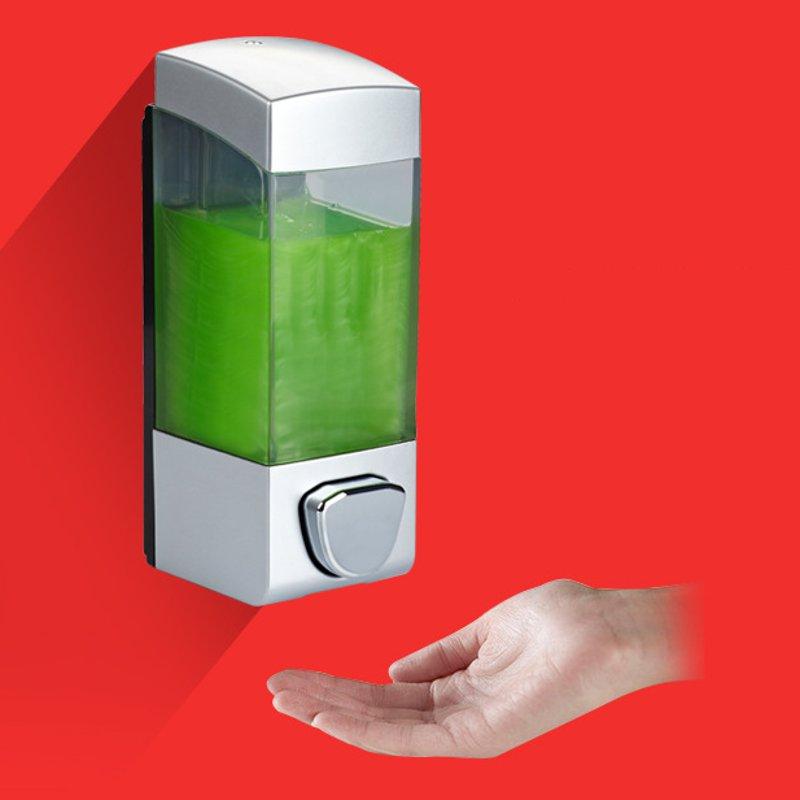 Bathroom Triple Shower Gel Body Lotion Conditioner Shampoo Liquid Soap Dispenser