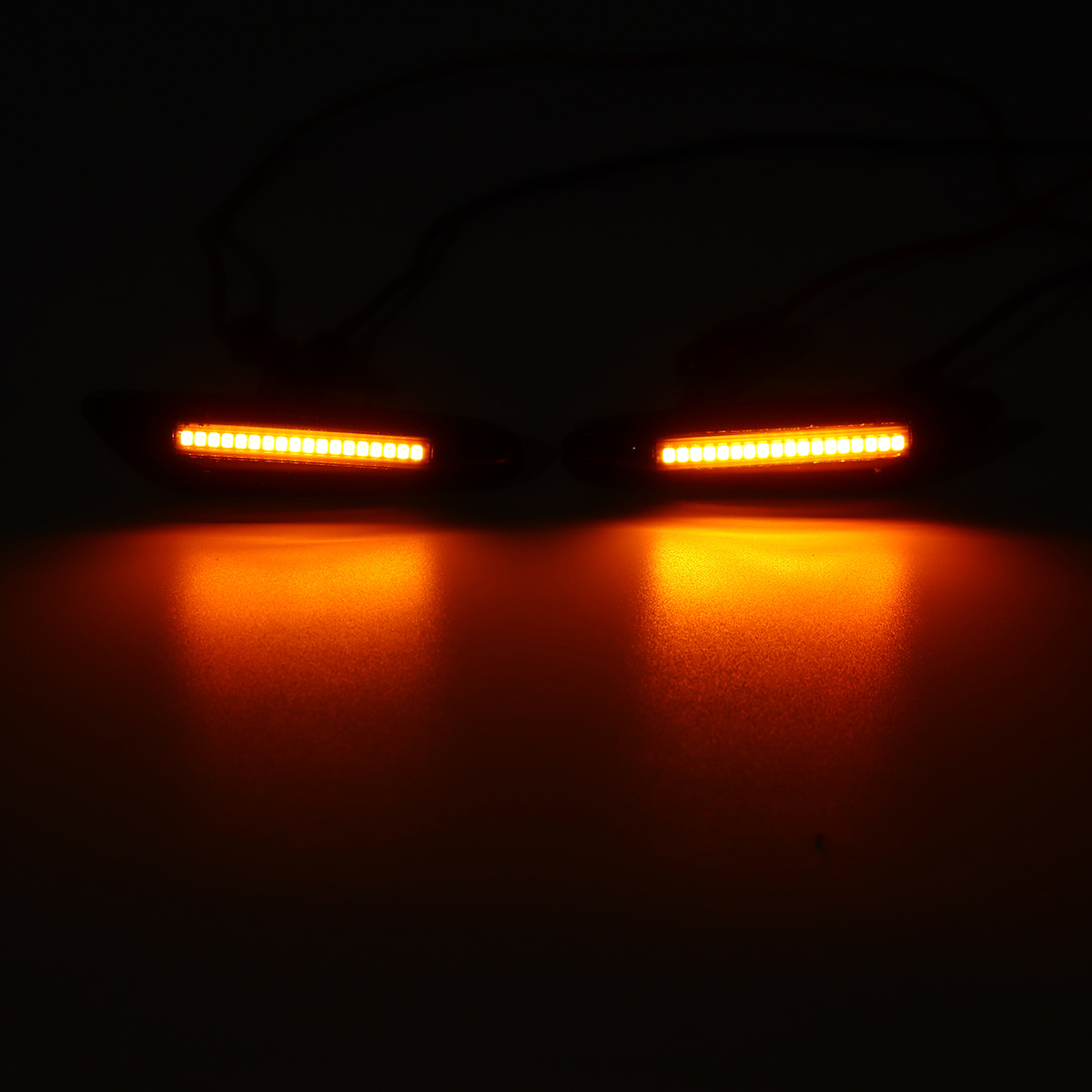LED Side Marker Lights Repeater Indicator Bulb Pair for BMW E46 E60 E82 E88 E90 E92 E93