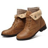Winter Women Casual Keep Warm Comfortable Ankle Short Boots