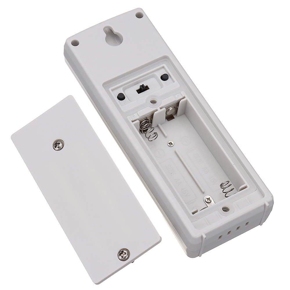3 Sensors Wireless Digital Alarm Thermometer Indoor Outdoor Audible Indicator