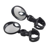 BIKIGHT Mini Bike Mirror Cycling Bicycle Handlebar Flexible Rearview Mirror Motorcycle E-bike Xiaomi
