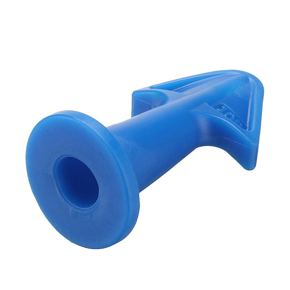 Effetool 3pcs Silicon Sealant Nozzle Plus Scrapers Set Trowel Nozzle Plus Silicone Caulking Tools