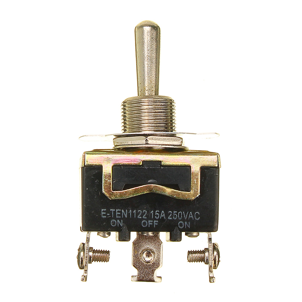 Heavy Duty Metal Toggle Flick Switch ON OFF ON 12V SPDT
