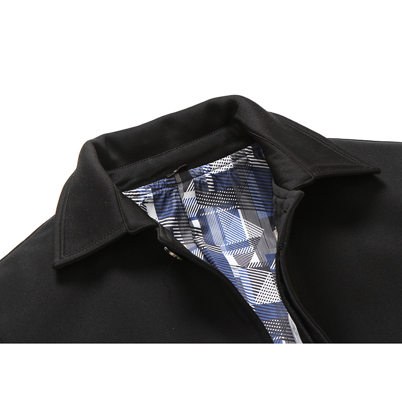 Mens Big Size Casual Solid Color Business Turn Down Collar Jacket