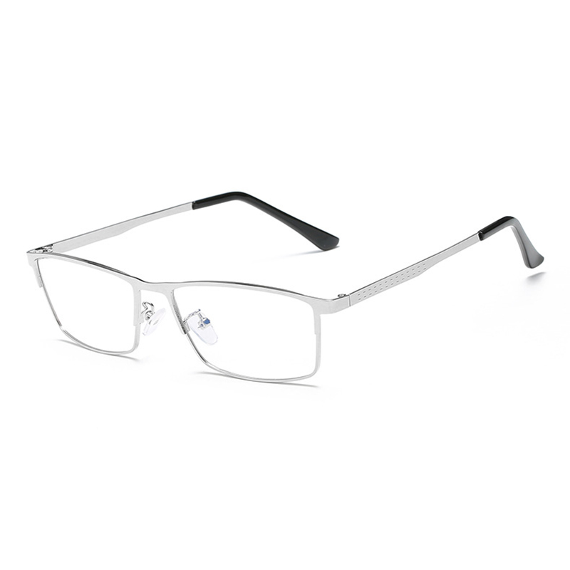 a154a05fde More Detailed Photos  Lightweight Blue Light Blocking Optical Eyeglasses  Business Metal Frame Computer Reading Glasses