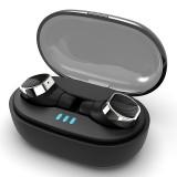 [Bluetooth 5.0] TWS True Wireless Earbuds 6D Stereo IPX5 Waterproof Noise Cancelling Binaural Call Earphone