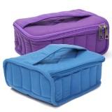 30 Bottle Essential Oil Nail Polish Carrying Case Storage Organizer Bag Shockproof Travel Bag