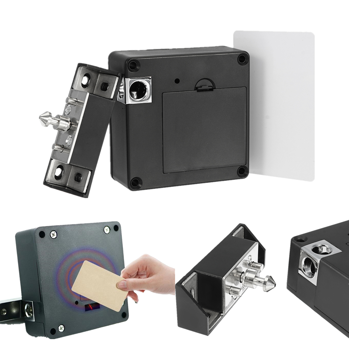 Electronic Cabinet Door Drawer Lock Auto Safety Security ...