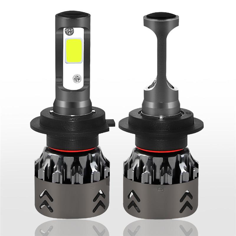 60W Car LED Headlights Bulbs Fog Lamps H1 H4 H7 H11 9005 9006 9V-36V 9600LM 6000K Universal