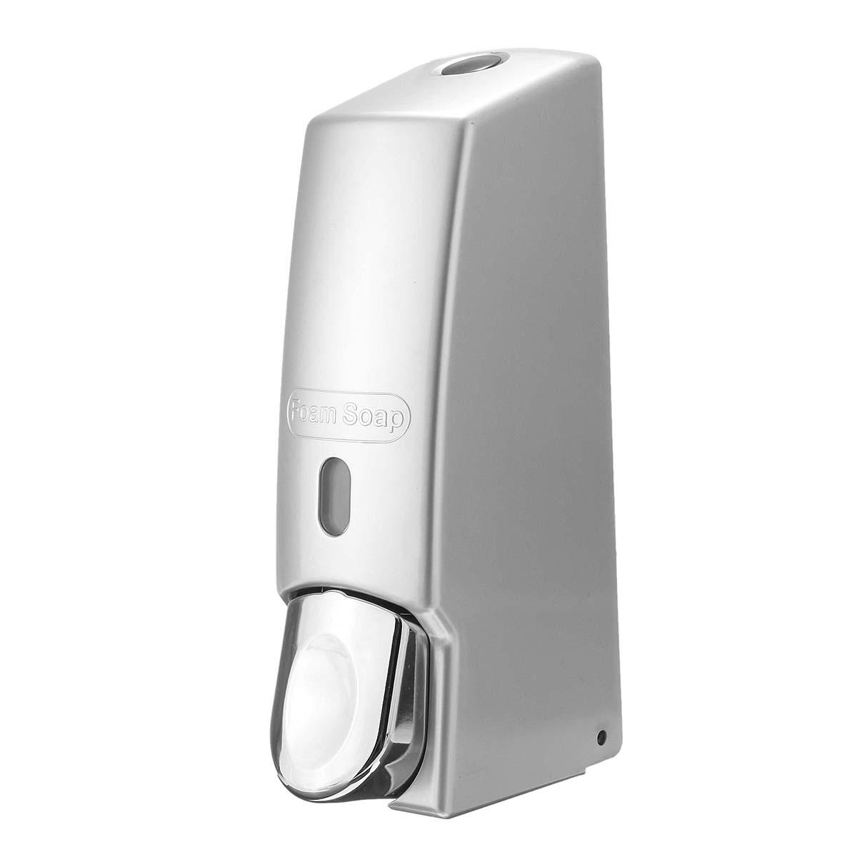 600ml Bathroom Kitchen Soap Dispenser Gel Lotion Bottle Pump Shower Shampoo  Storage Wall Mounted
