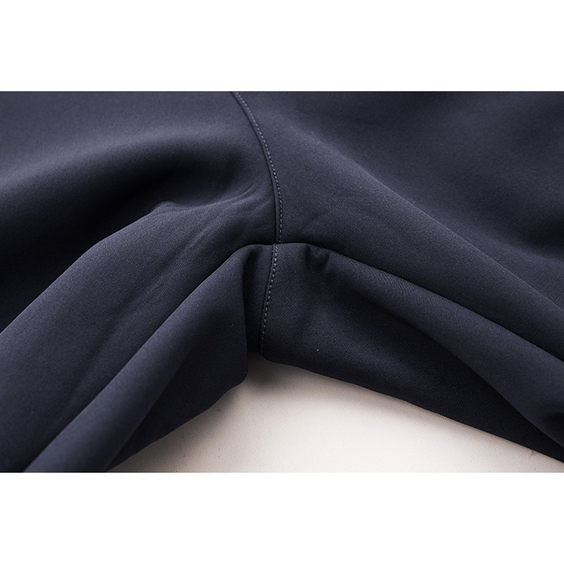 Mens Outdoor Water-repellent Sport Pants Solid Color Polar Fleece Thermal Quick-dry Trousers