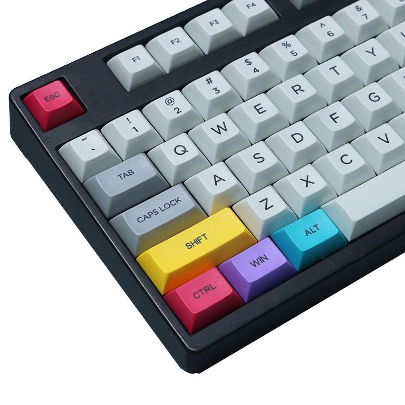 29PCS DSA Profile CMYK Color Dyesub PBT Keycaps Keycap Set CTRL WIN ALT  SHIFT Keycap