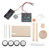 DIY Solar Car Technology Small Invention Student Science Manual Assembly Electronic Production Kit