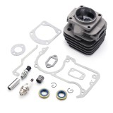 52mm Bore Air Cylinder Head Piston Sleeve Kit For HUSQVARNA 268 XP 272 272XP 272K