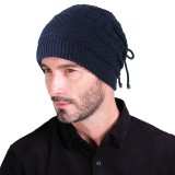 Multi-purpose Winter Plush Knit Beanie Hat Scarf Outdoor Ski Earmuffs Skull Cap