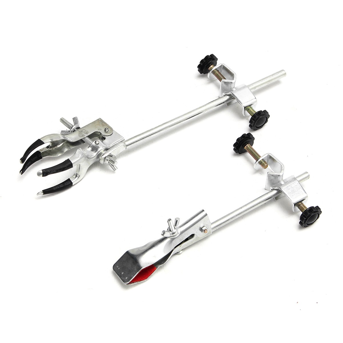 Laboratory Stands Support Lab Clamp Flask Clamp Condenser Clamp Stand Four Prong Extension Flask Clamp