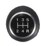 5 6 Speed PU Leather Gear Shift Knob For Fiat Ducato Relay