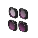 4pcs ND4+ND8+ND16+ND32 Filter Set Lens Filter for DJI OSMO POCKET Gimbal Camera
