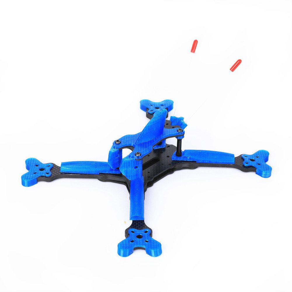 GB Series Ranger 215 215mm Stretch X Carbon Fiber Frame Kit 5mm Arm With TPU Parts for FPV RC Drone