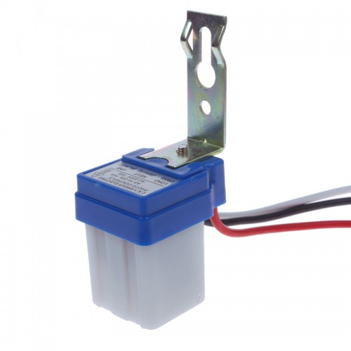 AC DC 220V 10A Auto On Off Photocell Street Light Photoswitch Sensor Switch #1