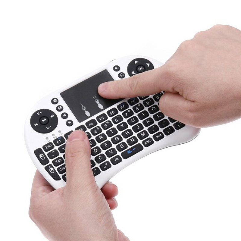 2 4G Wireless Air Mouse Keyboard Remote Control For XBMC Android TV Box