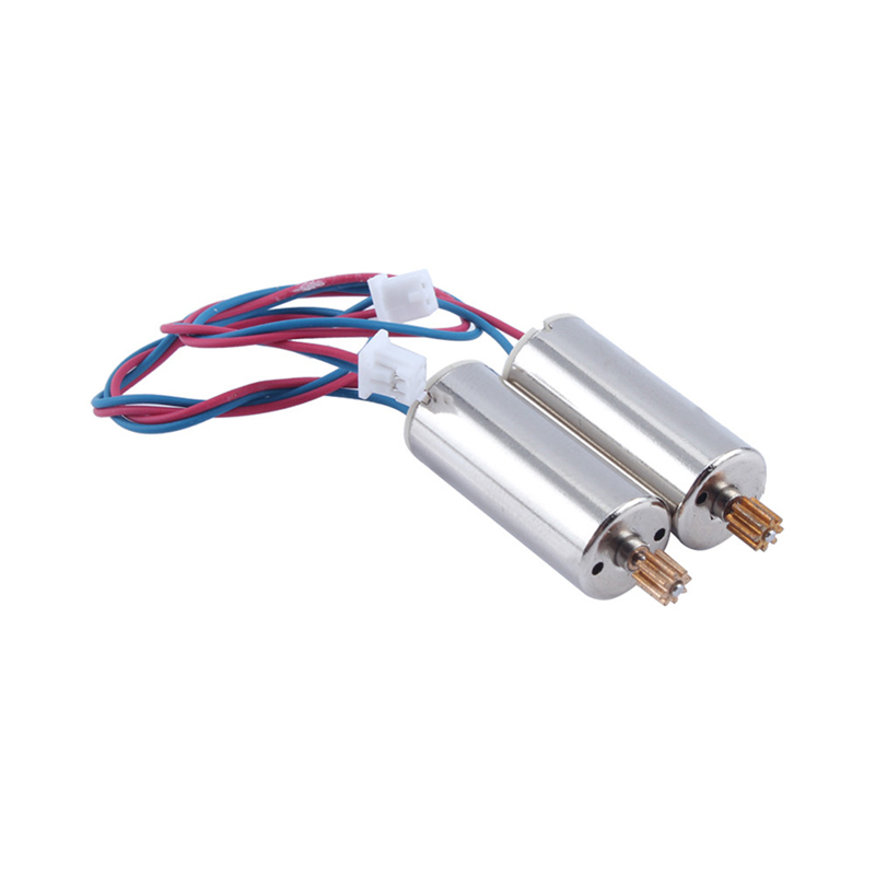 2Pcs Set Red Blue Wire Clockwise + Black White Wire Anticlockwise Motor for Wltoys V686 Drone Quadcopter