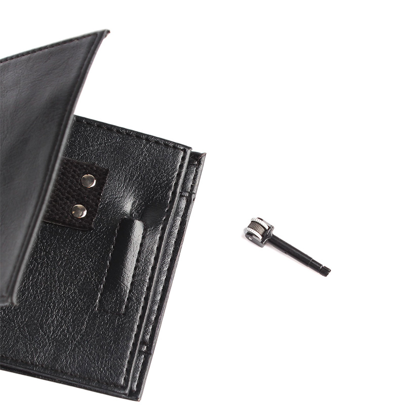 Magic Trick Flame Fire Leather Wallet Street Magnetic Inconceivable Show Prop