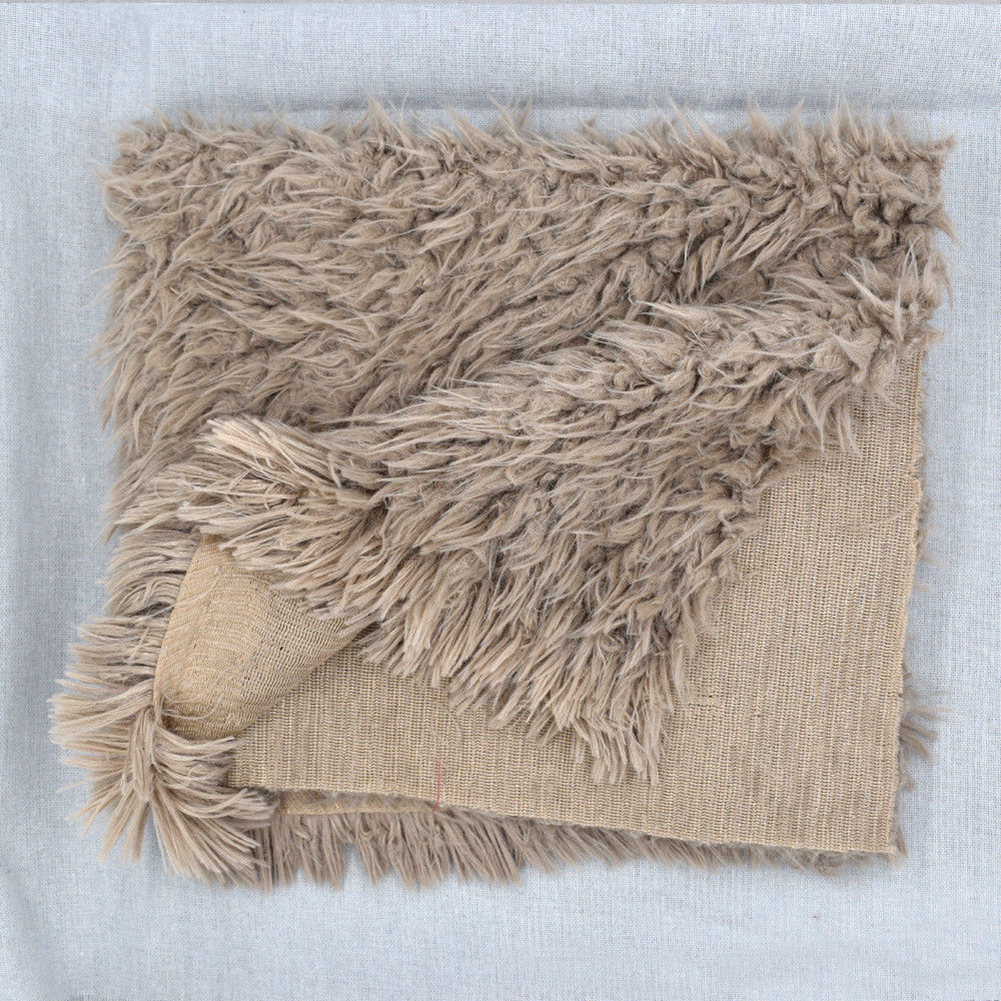 Soft Newborn Photographic Blanket Photo Props Fur Mat Baby Photography Quilt