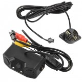 Car Rear View Camera with Radar Parking Sensor 170 Degree Viewing Angle HD Waterproof Rearview Camera