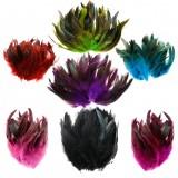 100PCS Beautiful Goose Cock Feathers DIY Dreamcatcher Decor 6-8 inches/15-20 CM