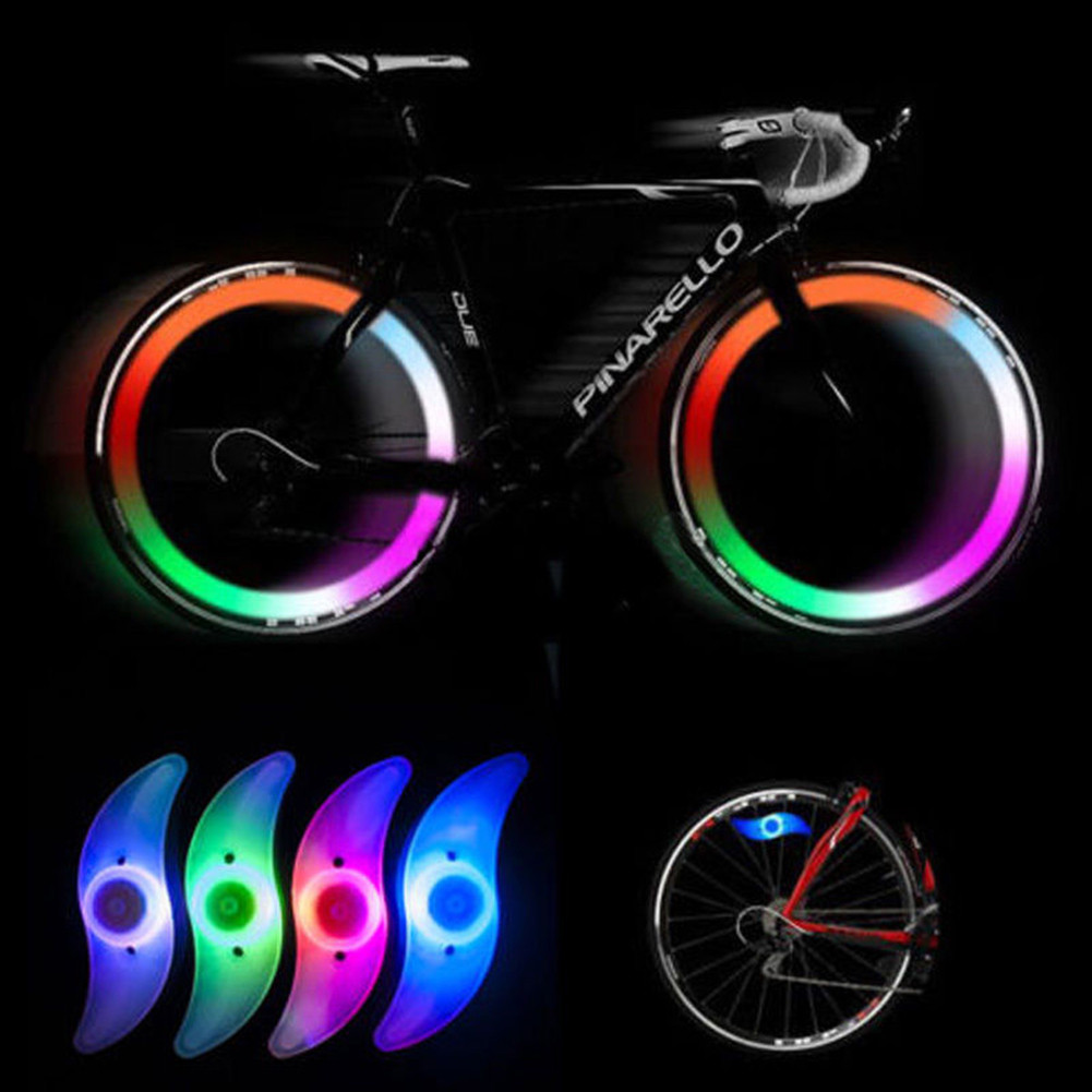 LED Spoke Lights Bikes Bicycle Cycling Spoke Wire Tire Tyre Wheel LED Bright Light Lamp