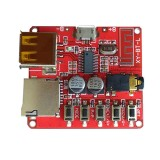 Car Bluetooth 4.1 MP3 WAV Decoding Board Speaker Amplifier Audio Receiver Module Support USB/TF/U-Disk