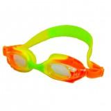 Anti-fog Clear Lens Cartoon Fish Glasses Kids Silica Gel Swimming Goggles