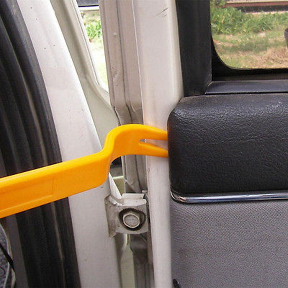 4Pcs/Set Auto Car Radio Door Clip Panel Trim Dash Audio Removal Installer Pry Tool