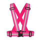 Kids Reflective Vest Adjustable Safety Security Visibility Gear Stripes Jacket Children
