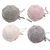Plaids Pumpkin Beanie Baby Hat cap For Toddler Baby Kid Girl Boy Hats 2-4 Years Headwear