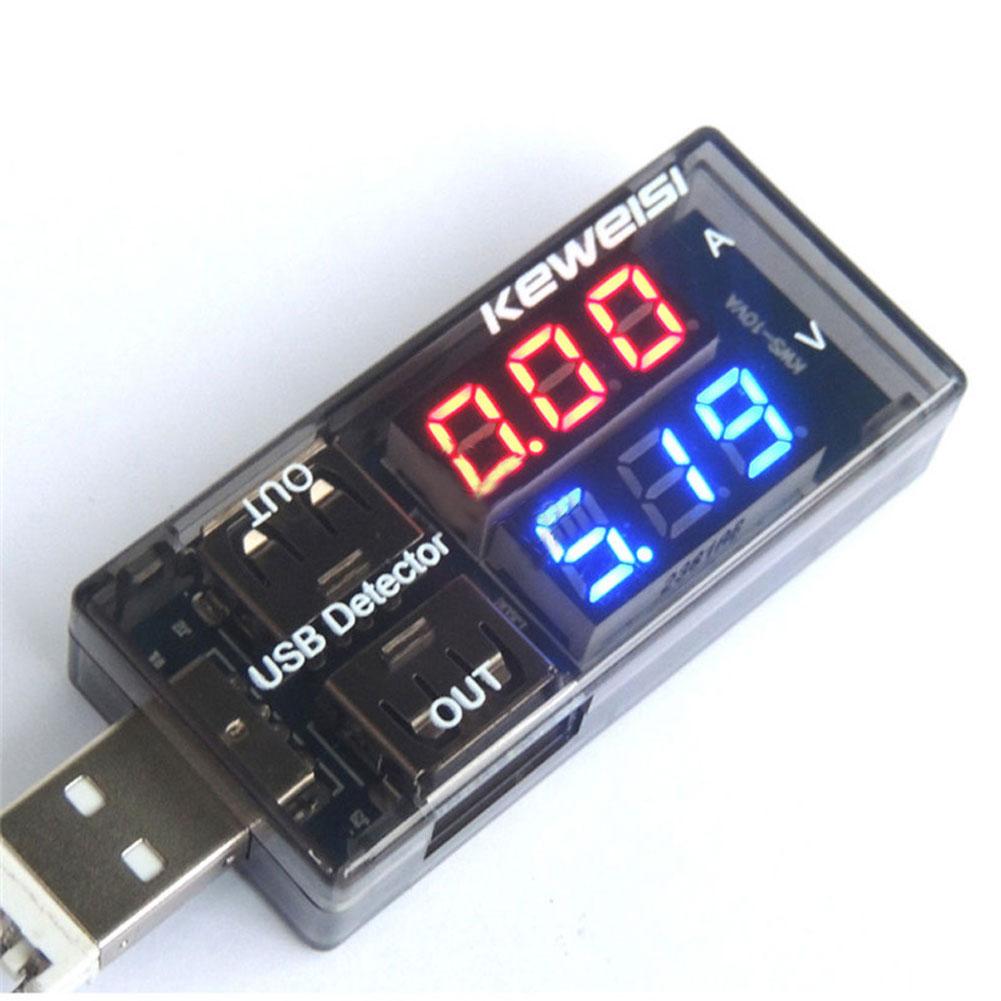 USB Charger Current Voltage Tester Mobile Battery Power Detector Voltage Current Meter