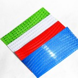 2Pcs Bike Riding Bicycle Cycling Wheel Spoke Reflector Reflective Sticker With Cool Color