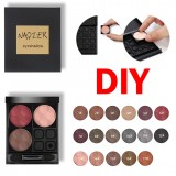 24 Color Lash Glitter Highlight Eyeshadow Diamond Lip Powder Matte Smoked Glitter Nude Eye Shadow Press Palette DIY Makeup