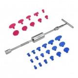 Car Body Paintless Hail Dent Repair T Bar Slide Hammer Tabs Puller PDR Tool