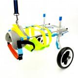 2 Wheel Pet Wheelchair Walk Assistant Cart Kit For Handicapped Cat Dog Puppy Walker S