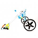2 Wheel Pet Wheelchair Walk Assistant Cart Kit For Handicapped Cat Dog Puppy Walker M