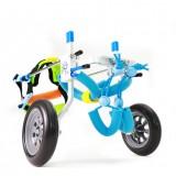 2 Wheel Pet Wheelchair Walk Assistant Cart Kit For Handicapped Cat Dog Puppy Walker XXS