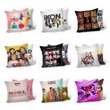 KPOP Cotton Pillow BTS IKON EXO GOT7 WANNAONE SEVENTEEN Home Decor Gift