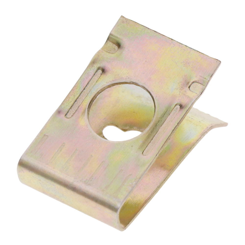 20pcs 5mm Hole Dia Bronze Tone Metal Screw Retainer Clips for Car Door Panel