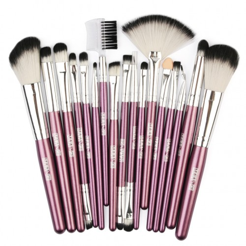 18pcs Makeup Brushes Set Cosmetics Power Foundation Blush Brushes Eye Shadow Blending Brush Beauty Make Up Tool Kits